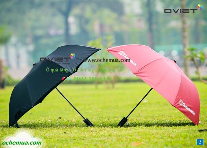Ô Cầm Tay In Logo I Ô cầm tay che mưa che nắng